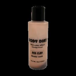 Body Dirt Liquid Red Clay 4oz