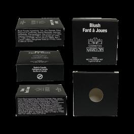 Professional Black Box Blush Container