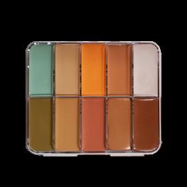 HD Cream Foundation Corrector Palette Mini