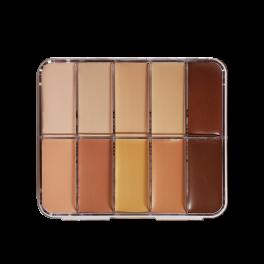 HD Cream Foundation Mixed Palette Mini