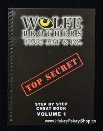 Wolfe face art & FX Volume 1 TOP SECRET