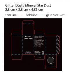Professional Black Box Shimmer Star Dust