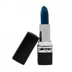 Lipstick - Paradise Blue (Cream Matte) - Silver Color