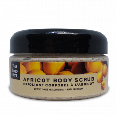 Apricot body scrub 8oz