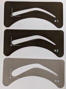 Eyebrow Stencil 3 shapes