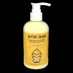 Butter Brains Hand and Body Moisturizer 8oz