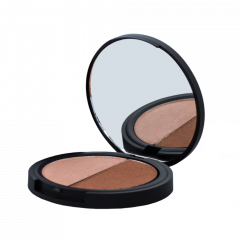 Compact - Duo Bronzer Light Half Moon
