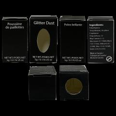 Professional Black Box Glitter