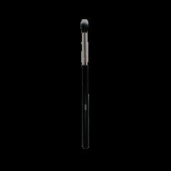 J430 Crease Black Nylon + White Hair Brush