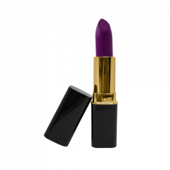 Purple Orchid - M - Gold Trim
