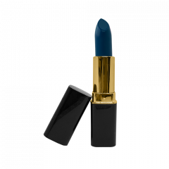 Paradise Blue (Cream Matte) - Gold Trim