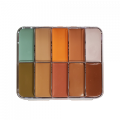 HD Cream Foundation Corrector Palette Mini