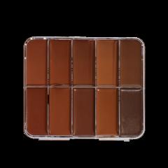 HD Cream Foundation Dark Palette Mini