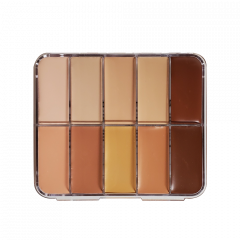 HD Cream Foundation Mixed Palette Mini