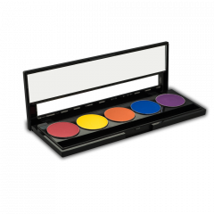 Eyeshadow Palette - Vivid Eye shadow (5) pan - 26mm