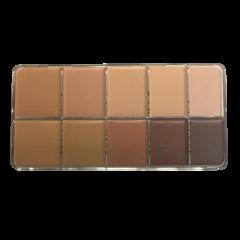 HD Cream Foundation S&R Palette (10)