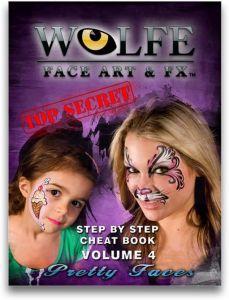 Wolfe face art &FX Volume 4 PRETTY FACES