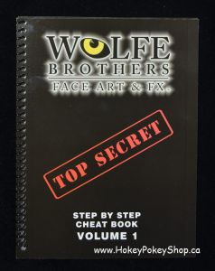 Wolfe face art & FX Volume 1 TOP SECRET