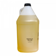 Massage Oil - Yellow - 128 oz / 1 gl